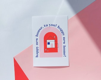 """2 x """"happy new home"""" cards"""