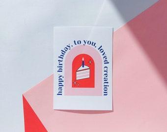 2 x birthday card