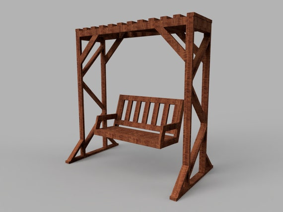Diy 2x4 Bench Swing And Frame Plans, How To Build A Patio Swing Frame