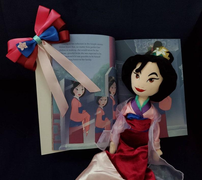 Mulan Inspired Hair Bow