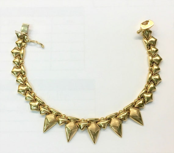 14K Shark Tooth inspired