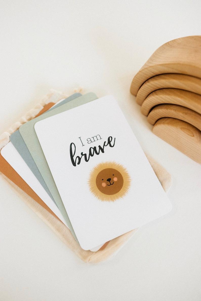 Positive daily affirmation cards for kids affirmation deck image 1