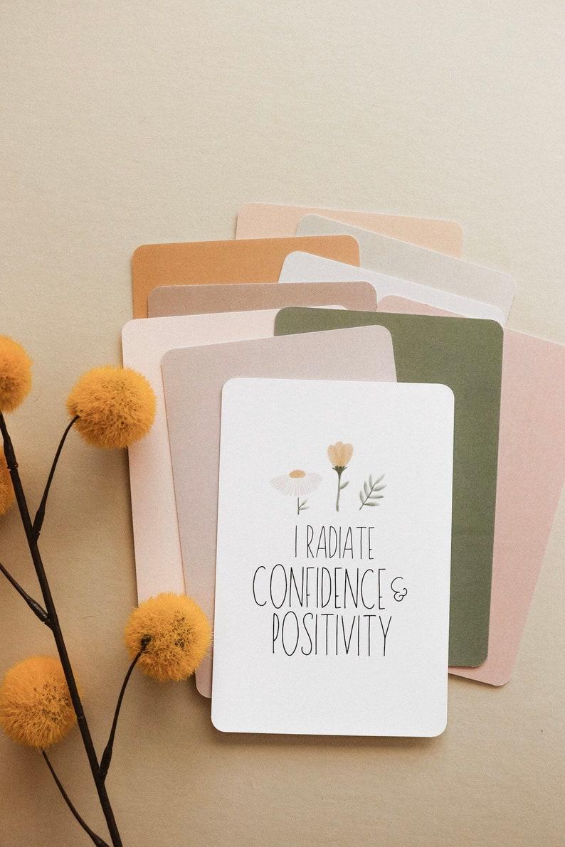 Women Affirmation Cards Women Empowerment Cards Positive image 7
