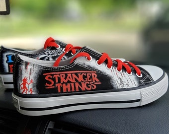 Stranger things shoe | Etsy