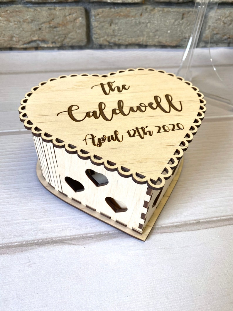 Heart Wedding guest book sign Last name wedding heart guest book Wedding guest book alternative
