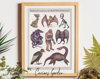 Mythical Creatures of Cryptozoology