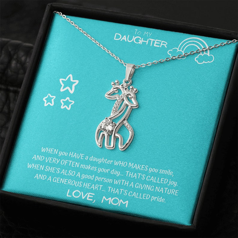To My Daughter Daughter Mother Necklace Daughter Gift From Mom Grown Up Daughter Unique Gift For Daughter From Mom Daughters Birthday