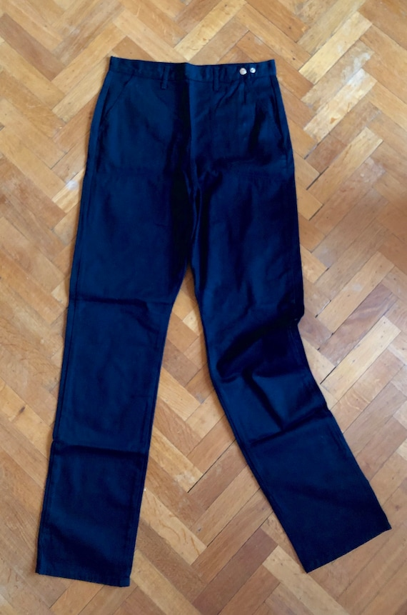 High Waisted Classic black jeans