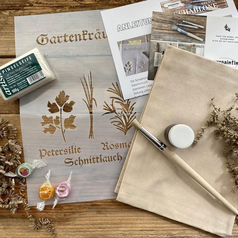 Gift Box Stencil Gift Box Stencil Kit image 0