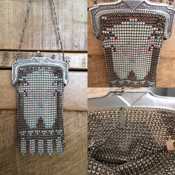 1920s Whiting And Davis Mesh Purse.