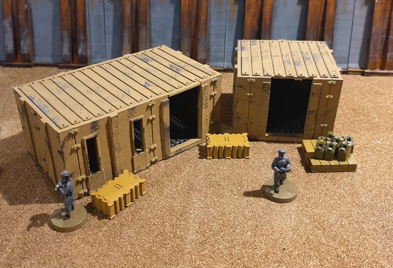 28mm Prefab Building Set image 0
