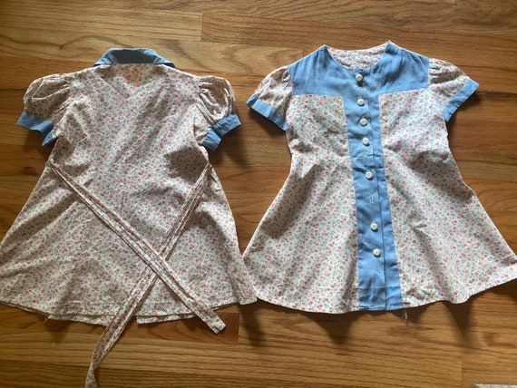 Twin set dresses
