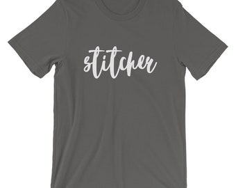 Stitcher Short-Sleeve Unisex T-Shirt