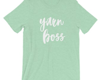 Yarn Boss Short-Sleeve Unisex T-Shirt