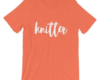 Knitter Short-Sleeve Unisex T-Shirt