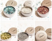 5 Mixes - Cassiopeia 39 s Constellation - Biodegradable Glitter - Blue Silver Gold Purple Pink White Green