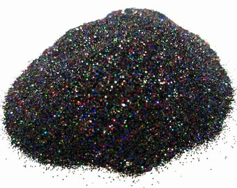 25 Gram - Eye Candy Mica Pigments -BLACK  WIDOW FLAKES