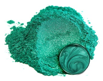 Eye Candy Mica Pigments - OKINAWA GREEN