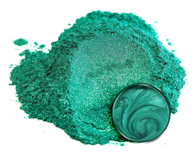 Eye Candy Mica Pigments - OKINAWA GREEN