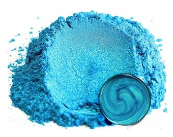 50 Gram - Eye Candy Mica Pigments - OKINAWA BLUE