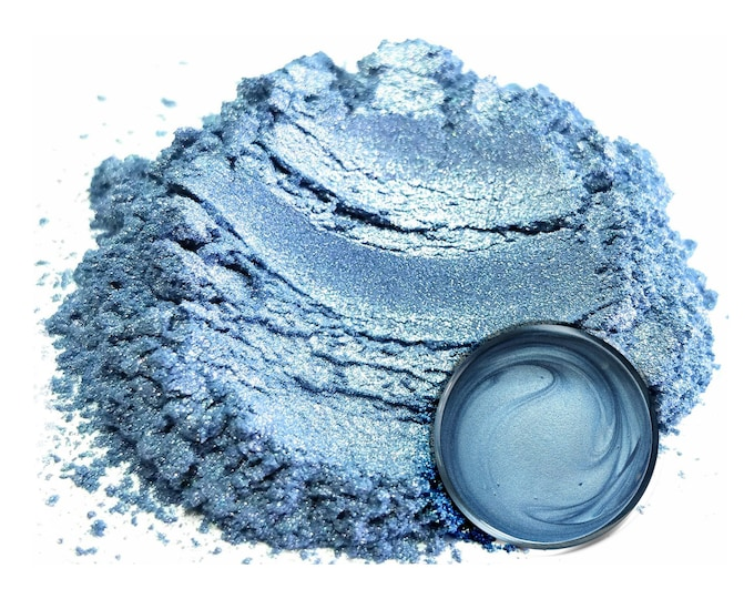 Eye Candy Mica Pigments - CAROLINA BLUE