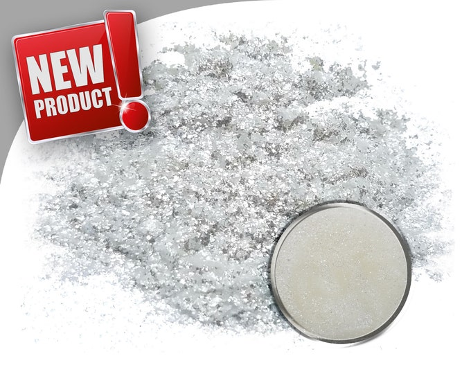 5 Gram - Eye Candy Mica Pigments -SNOWFLAKE