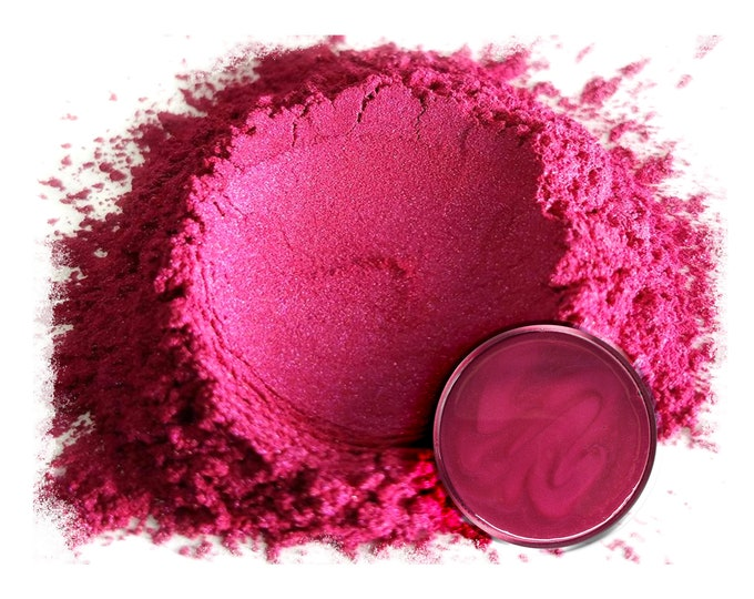 5 Gram - Eye Candy Mica Pigments-UBE RED