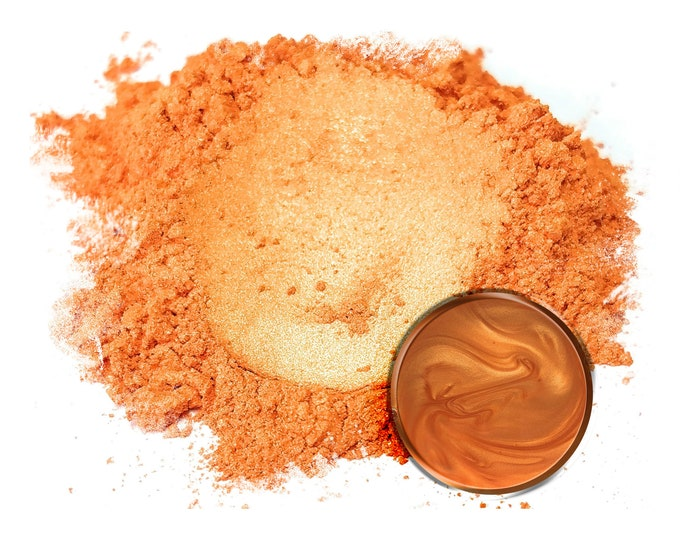 5 Gram - Eye Candy Mica Pigments-FIRE ORANGE