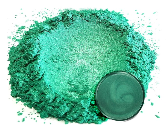 Eye Candy Mica Pigments - FOREST GREEN