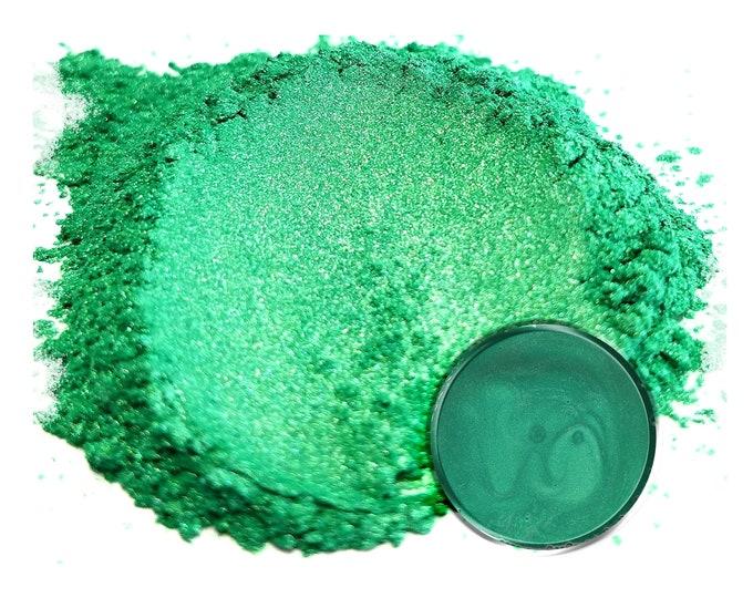 5 Gram - Eye Candy Mica Pigments -RAINBOW GREEN