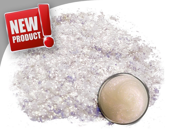 25 Gram - Eye Candy Mica Pigments -GALACTIC GHOST RED