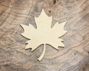 MAKERS REUSABLE MOLD™ Maple Leaf Blank