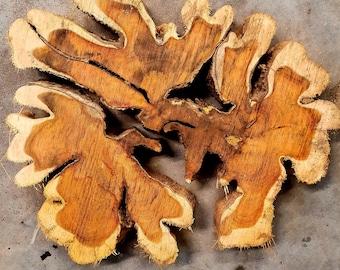 "Brasiletta wood Approx 13.5""x 11.5""x 1.25"""