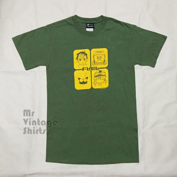 FLCL Fooly Cooly 1999 vintage anime t-shirt, very