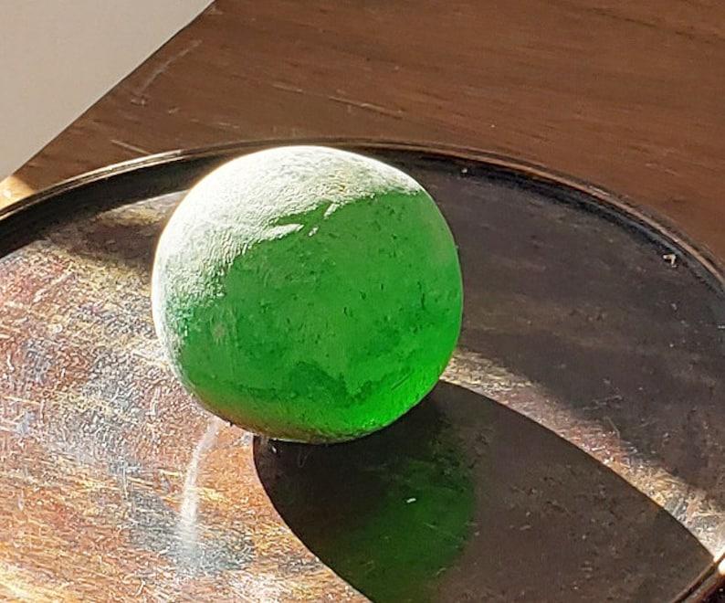 HOLY Chintamani Green POWER Mini CINTAMANI Jewel Dragon Pearl Relic Meditation C