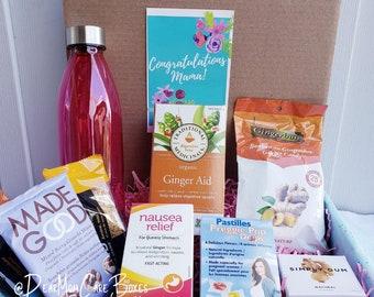 The Feel Better Morning Sickness Relief Pregnancy Gift Box First Trimester Gift Pregnancy Nausea  Gluten & Vegan Friendly Gift Box