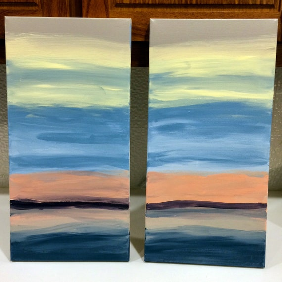 "Waves of Life  10""x 20"""