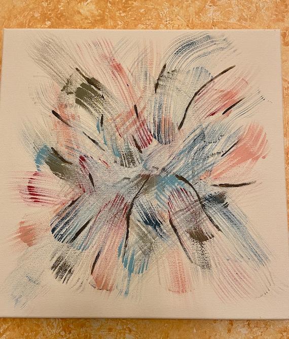 """Flower Burst   14""""x14"""""""