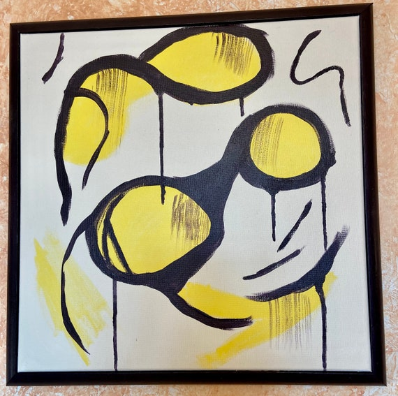 "Funny Face    Framed 16""x16"""