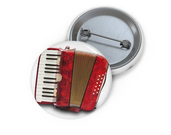 Accordian Musical Squeeze Box Quality Enamel lapel pin badge