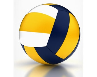 Volleyball Lover Gift Quality Aluminum Decoration Custom Sign for Volleyball Player Sign Peace Love Volleyball Sign Volleyball Decor