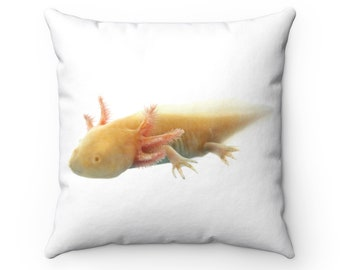 Axolotl pillow | Etsy