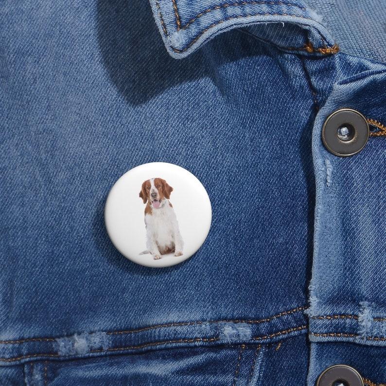Enamel Pins Funny Pin Springer Spaniel Button Lapel Pins Springer Spaniel Pin Button Set Lapel Pin Hat Pin
