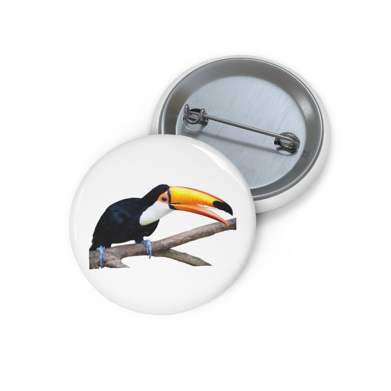 Lapel Pins Funny Pin Toucan Pin Enamel Pins Button Set Hat Pin Lapel Pin Toucan Button