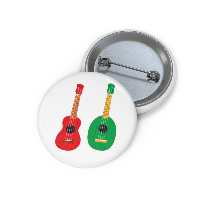 Ukulele Button Button Set Lapel Pins Lapel Pin Hat Pin Funny Pin Ukulele  Pin Enamel Pins