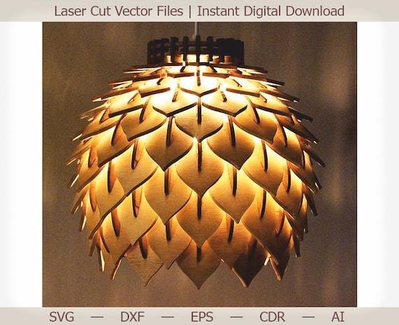 Laser Cutting Lamp
