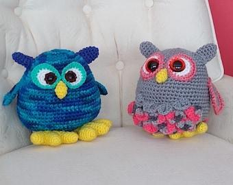Digital Download of Pattern for Crochet Owl Amigurumi Toy