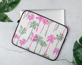 Beach Laptop Sleeve Ocean Laptop Sleeve Palm Tree Laptop Bag Protective Laptop Case Seashore Laptop Sleeve 13 Inch Sleeve Case YZ5470