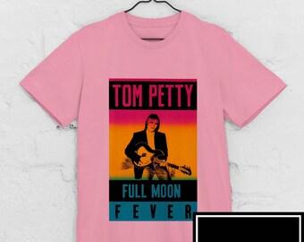 Tom Petty Strange Behaviour Full Moon Fever Official Tee T-Shirt Mens