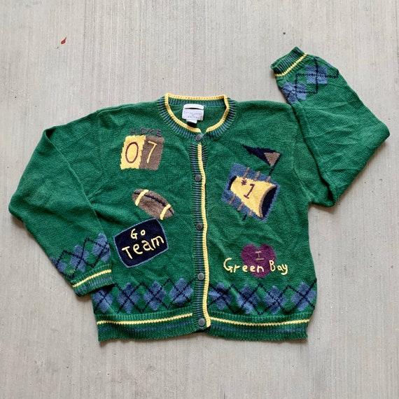 Vintage Hand-Embroidered Cardigan